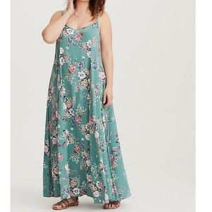 Torrid Trapeze Maxi Dress Size 3x